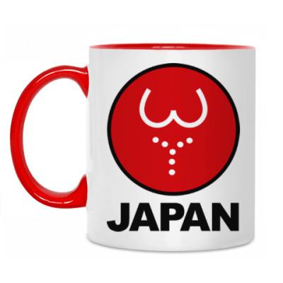 Кружка Японская леди