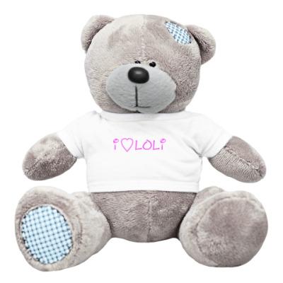 Плюшевый мишка Тедди loli