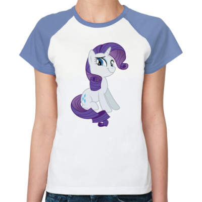 Женская футболка реглан Rarity T