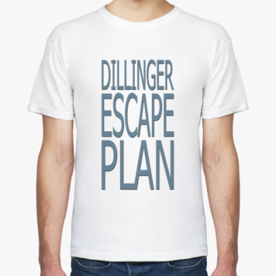 Футболка Dillinger escape plan
