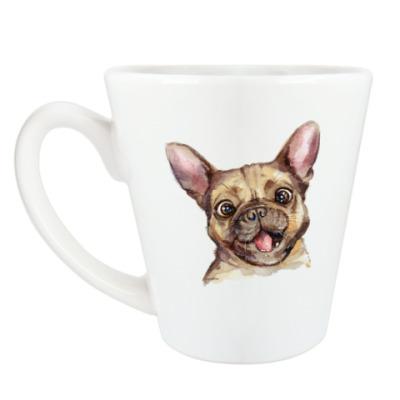 Чашка Латте Бульдог.