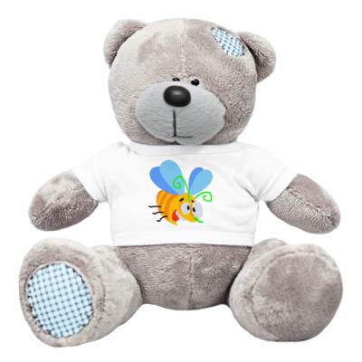 Плюшевый мишка Тедди Мишка и пчёлка