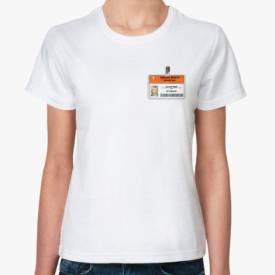 Классическая футболка  футболка Элиот Рид