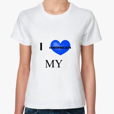 Классическая футболка  Impreza