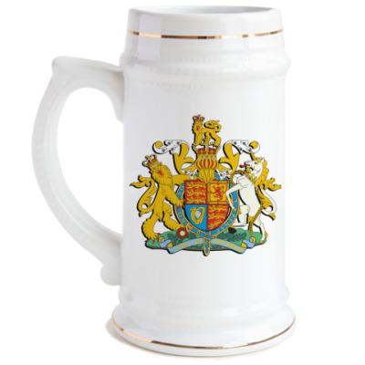 Пивная кружка Герб  Великобритании