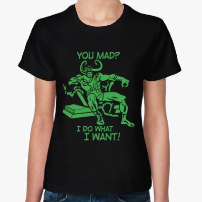 Женская футболка  Том Хиддлстон