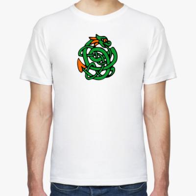 Футболка Ирландский зеленый змий