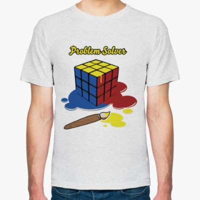 Футболка Кубик Рубика   Rubiks Cube