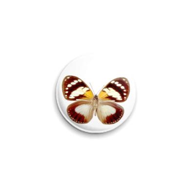 Значок 25мм  Бабочка 10