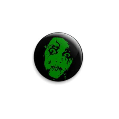 Значок 25мм  Green Face