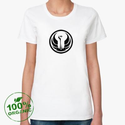 Женская футболка из органик-хлопка republic forces