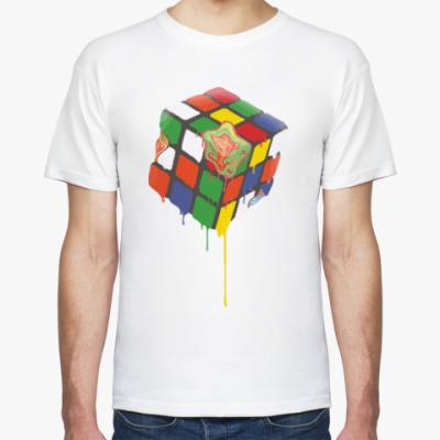Футболка Кубик Рубика   Rubik's Cube