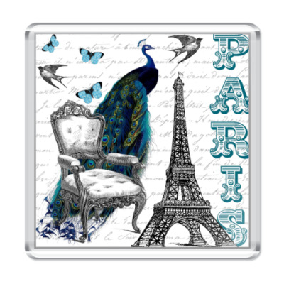Магнит Paris