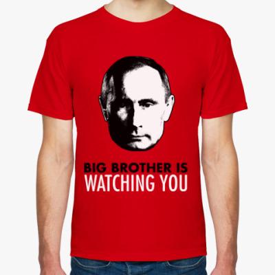 Футболка Big Putin Is Watching You