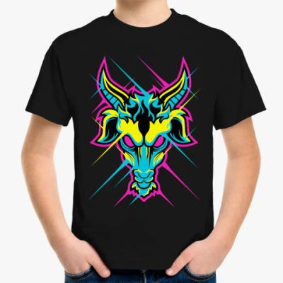 Детская футболка CYMK Коза
