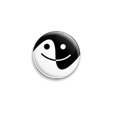 Значок 25мм 'Smile'