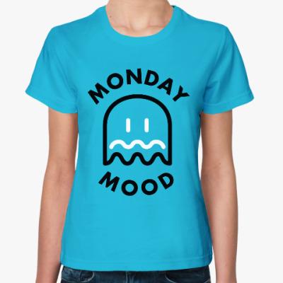 Женская футболка Понедельник