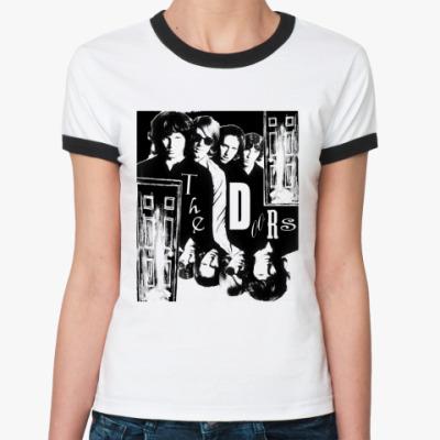 Женская футболка Ringer-T The Doors #2