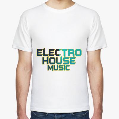 Футболка Electro house music