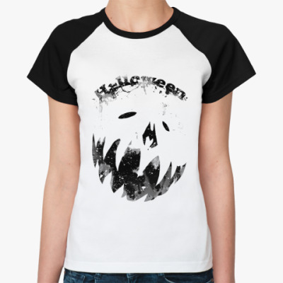 Женская футболка реглан Helloween  Ж()