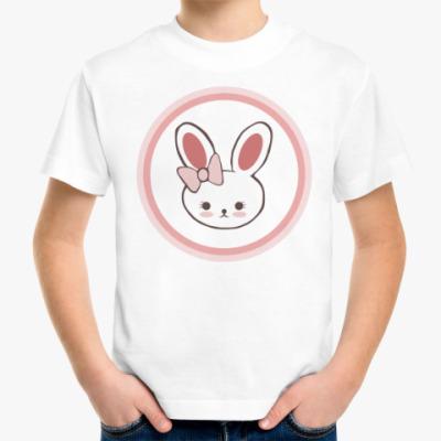 Детская футболка Зайка для влюблённых