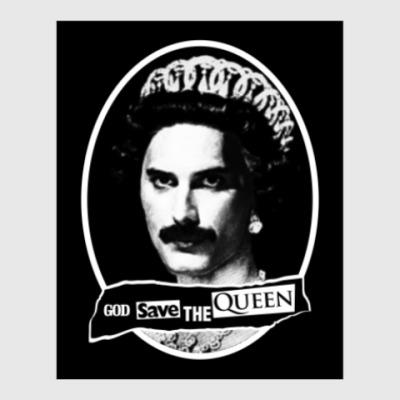 Постер God save the Queen
