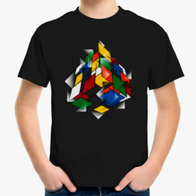 Детская футболка Кубик Рубика