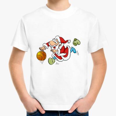 Детская футболка ДЕД  МОРОЗ