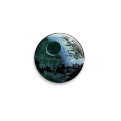 Значок 25мм  Звезда смерти