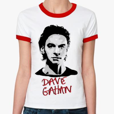 Женская футболка Ringer-T Dave