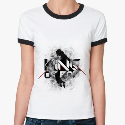Женская футболка Ringer-T Майкл