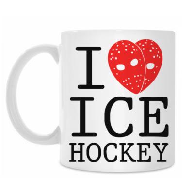 Кружка Люблю хоккей