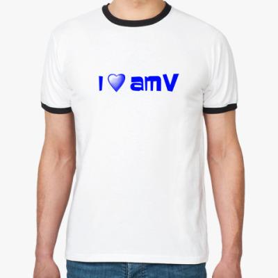 Футболка Ringer-T Люблю AMV