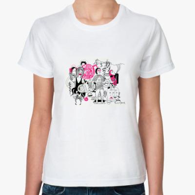 Классическая футболка  'мода'