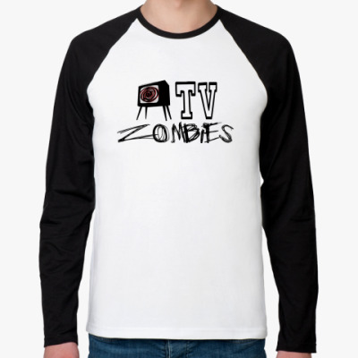 Футболка реглан с длинным рукавом TV Zombies