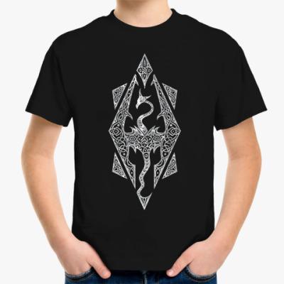 Детская футболка The Elder Scrolls V Skyrim