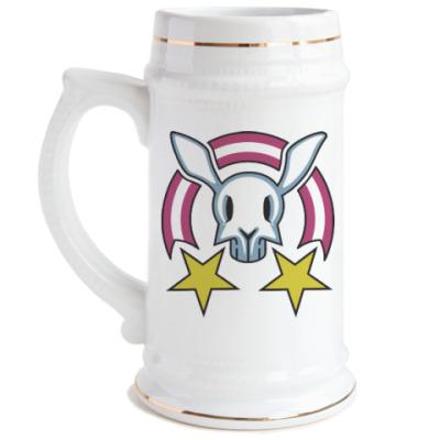 Пивная кружка Звездный заяц