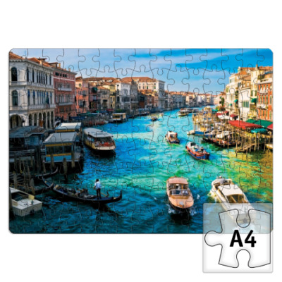 Пазл  прямоугольник Венеция