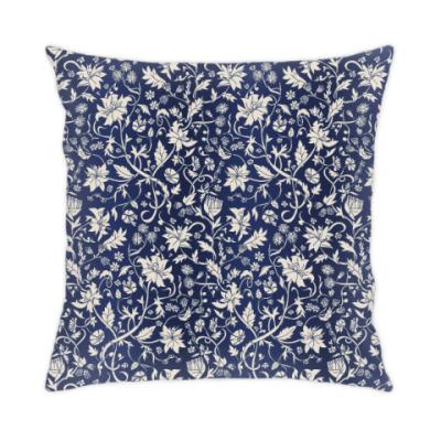 Подушка Винтажный растительный орнамент