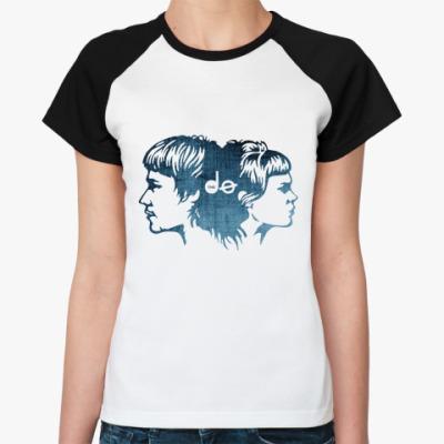 Женская футболка реглан The Dø