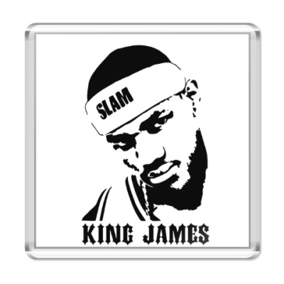 Магнит King James