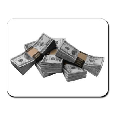 Коврик для мыши  деньги