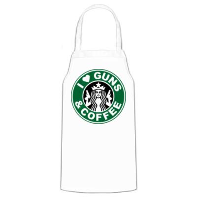 Фартук  love gans & coffee