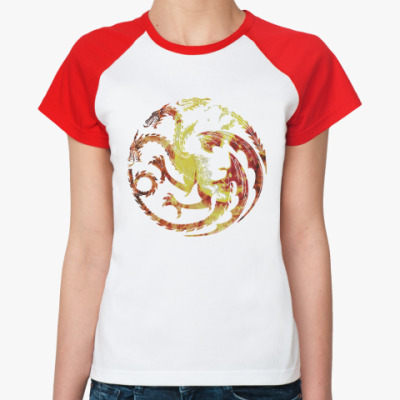 Женская футболка реглан Khaleesi