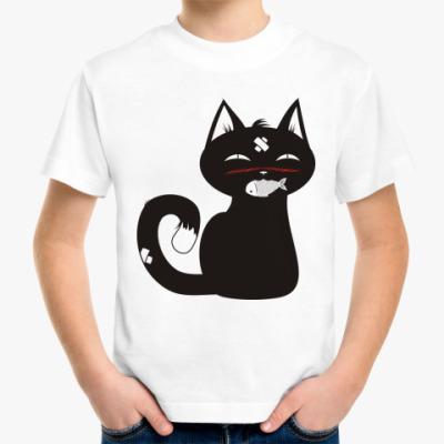 Детская футболка Милый котенок