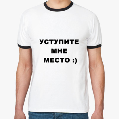 Футболка Ringer-T В метро