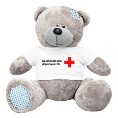 Плюшевый мишка Тедди Инфицирован гриппом