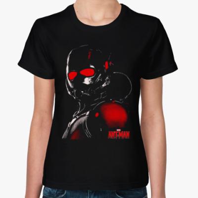 Женская футболка Человек-муравей