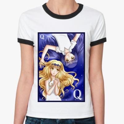 Женская футболка Ringer-T  Shugo Chara