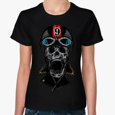 Женская футболка Мёртвый Гонщик